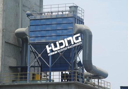 工厂布袋除尘器安装现场